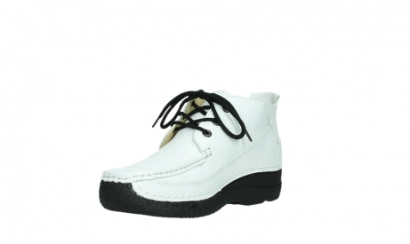 wolky lace up shoes 06200 roll moc 70100 white leather_10
