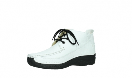 wolky lace up shoes 06200 roll moc 70100 white leather_11