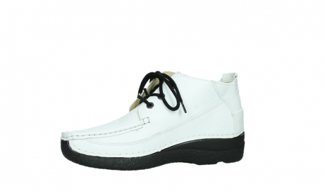 wolky lace up shoes 06200 roll moc 70100 white leather_12