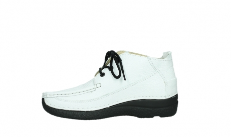 wolky lace up shoes 06200 roll moc 70100 white leather_13