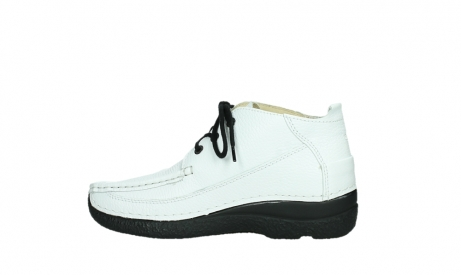 wolky lace up shoes 06200 roll moc 70100 white leather_14