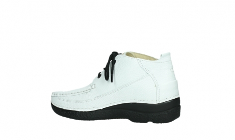 wolky lace up shoes 06200 roll moc 70100 white leather_15