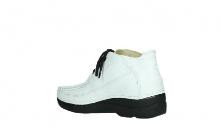 wolky lace up shoes 06200 roll moc 70100 white leather_16