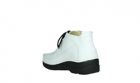 wolky lace up shoes 06200 roll moc 70100 white leather_17