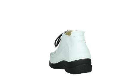 wolky lace up shoes 06200 roll moc 70100 white leather_18