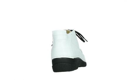 wolky lace up shoes 06200 roll moc 70100 white leather_20