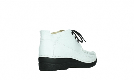 wolky lace up shoes 06200 roll moc 70100 white leather_22