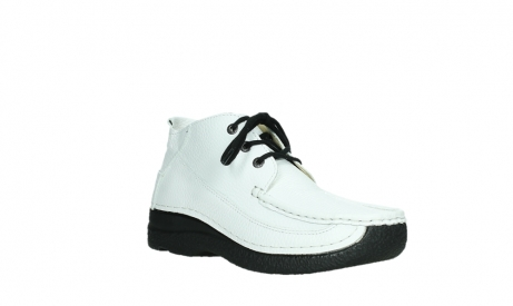 wolky lace up shoes 06200 roll moc 70100 white leather_4