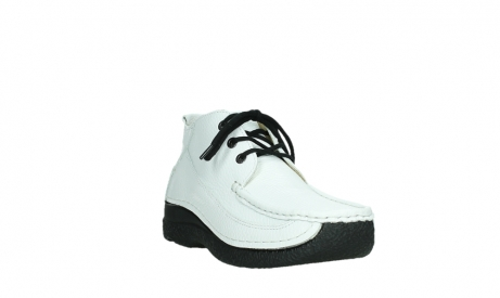 wolky lace up shoes 06200 roll moc 70100 white leather_5
