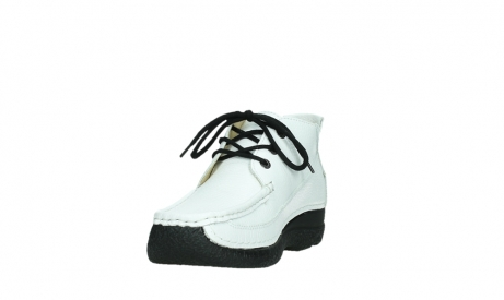 wolky lace up shoes 06200 roll moc 70100 white leather_9