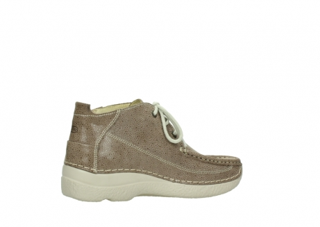 wolky lace up shoes 06200 roll moc 90150 taupe dots nubuck_11