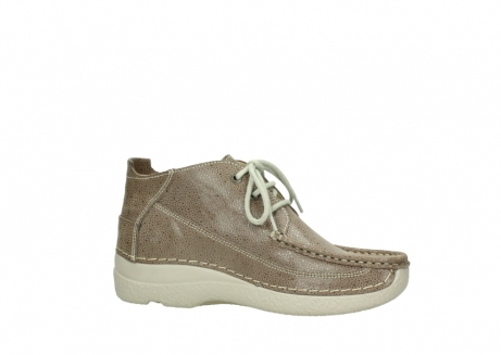 wolky lace up shoes 06200 roll moc 90150 taupe dots nubuck_14