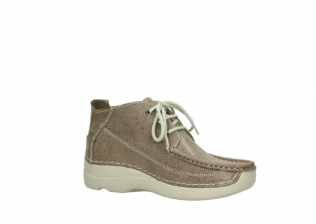 wolky lace up shoes 06200 roll moc 90150 taupe dots nubuck_15