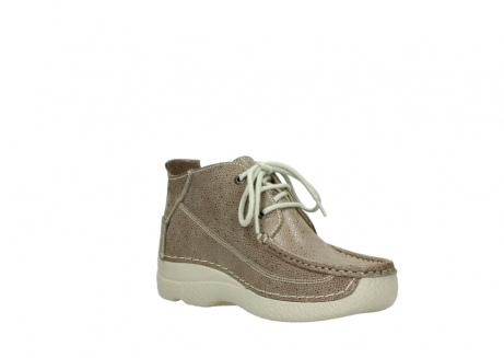 wolky lace up shoes 06200 roll moc 90150 taupe dots nubuck_16