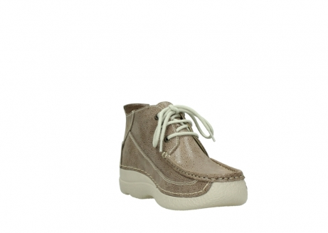 wolky lace up shoes 06200 roll moc 90150 taupe dots nubuck_17