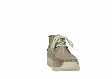 wolky lace up shoes 06200 roll moc 90150 taupe dots nubuck_18