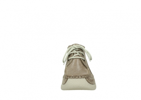wolky lace up shoes 06200 roll moc 90150 taupe dots nubuck_19