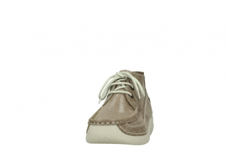 wolky lace up shoes 06200 roll moc 90150 taupe dots nubuck_20