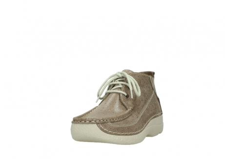 wolky lace up shoes 06200 roll moc 90150 taupe dots nubuck_21