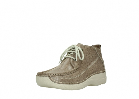 wolky lace up shoes 06200 roll moc 90150 taupe dots nubuck_22