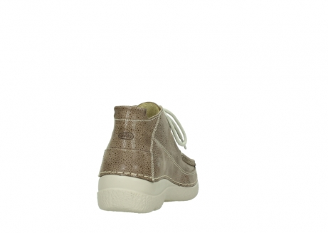 wolky lace up shoes 06200 roll moc 90150 taupe dots nubuck_8