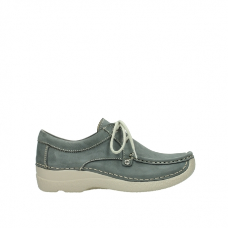 wolky lace up shoes 06286 seamy stroll 10200 grey nubuck