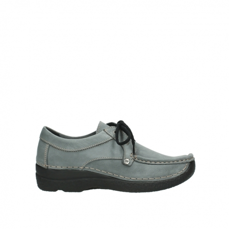 wolky lace up shoes 06286 seamy stroll 10220 grey nubuck
