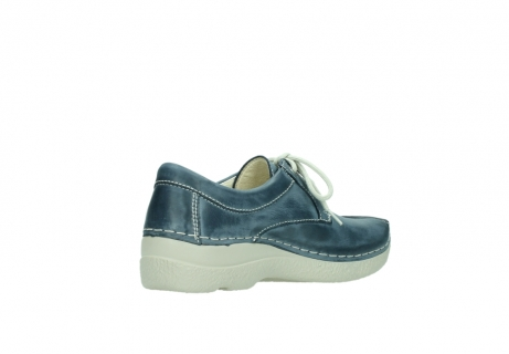wolky lace up shoes 06286 seamy stroll 30870 blue leather_10