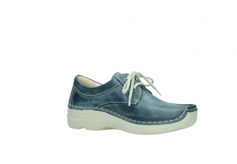 wolky lace up shoes 06286 seamy stroll 30870 blue leather_15