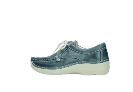 wolky lace up shoes 06286 seamy stroll 30870 blue leather_2