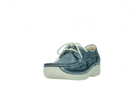 wolky lace up shoes 06286 seamy stroll 30870 blue leather_21