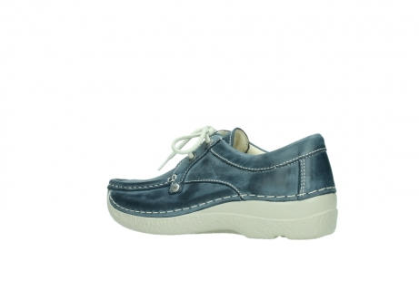 wolky lace up shoes 06286 seamy stroll 30870 blue leather_3