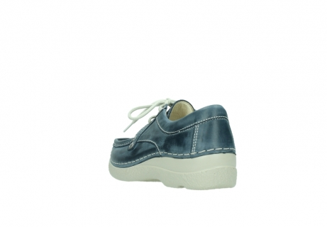 wolky lace up shoes 06286 seamy stroll 30870 blue leather_5