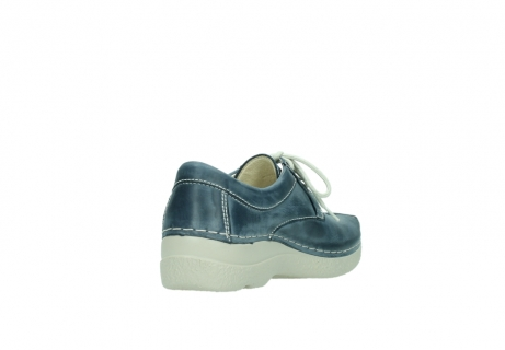 wolky lace up shoes 06286 seamy stroll 30870 blue leather_9