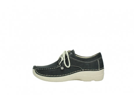 wolky lace up shoes 06286 seamy stroll 10070 black nubuck_1