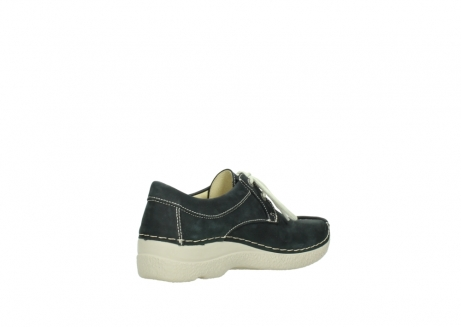 wolky lace up shoes 06286 seamy stroll 10070 black nubuck_10