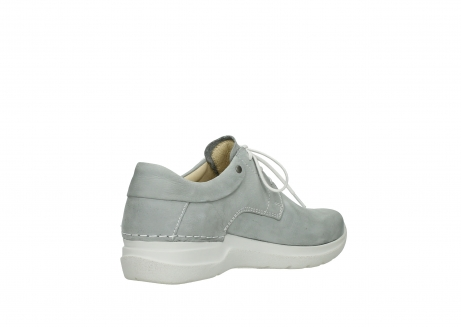 wolky lace up shoes 06603 wasco 11206 light grey nubuck_10