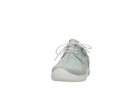 wolky lace up shoes 06603 wasco 11206 light grey nubuck_20