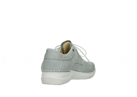 wolky lace up shoes 06603 wasco 11206 light grey nubuck_9