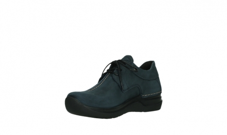 wolky lace up shoes 06603 wasco 11800 blue nubuck_10