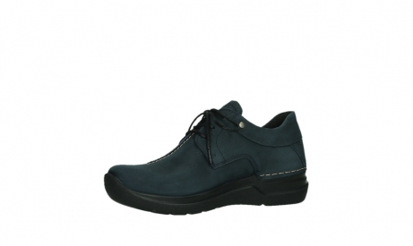 wolky lace up shoes 06603 wasco 11800 blue nubuck_11