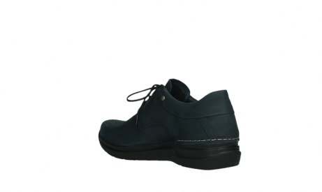 wolky lace up shoes 06603 wasco 11800 blue nubuck_16