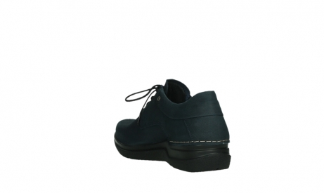 wolky lace up shoes 06603 wasco 11800 blue nubuck_17