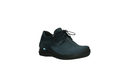 wolky lace up shoes 06603 wasco 11800 blue nubuck_4