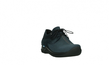 wolky lace up shoes 06603 wasco 11800 blue nubuck_5