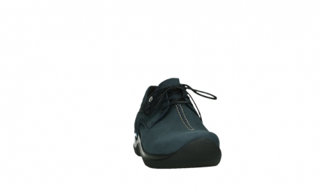 wolky lace up shoes 06603 wasco 11800 blue nubuck_6