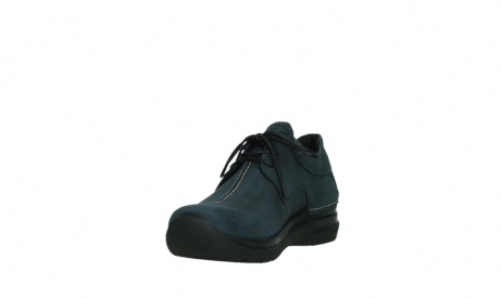 wolky lace up shoes 06603 wasco 11800 blue nubuck_9