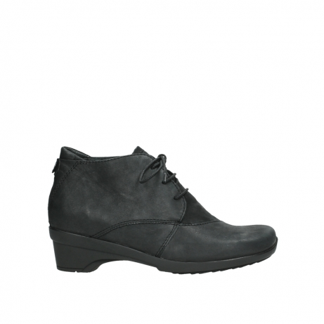 wolky chaussures a lacets 07653 montana 10210 cuir anthrancite