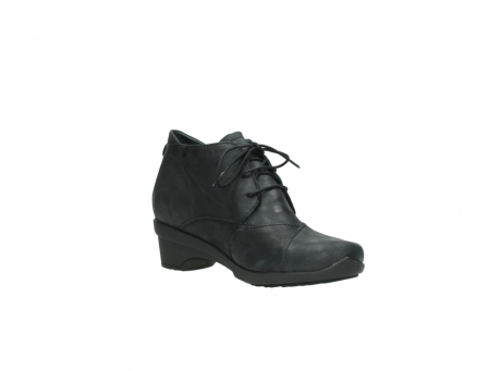 wolky chaussures a lacets 07653 montana 10210 cuir anthrancite_16