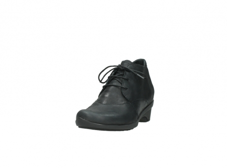 wolky chaussures a lacets 07653 montana 10210 cuir anthrancite_21